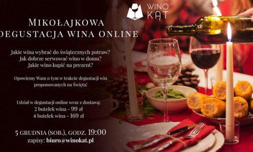 Winokąt degustacja online