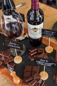 wine &chocolate pairing
